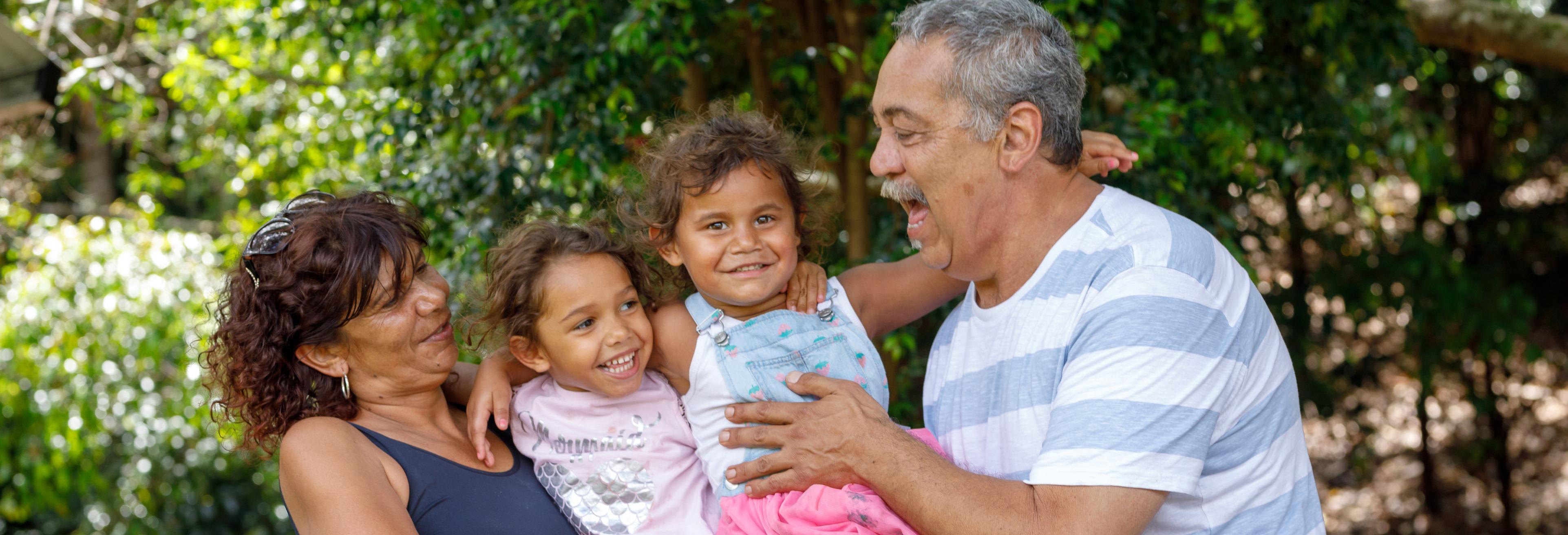 Aboriginal grandparents and grandchildren
